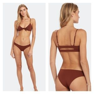 L Space Sandy Bikini Bottom NWT XL